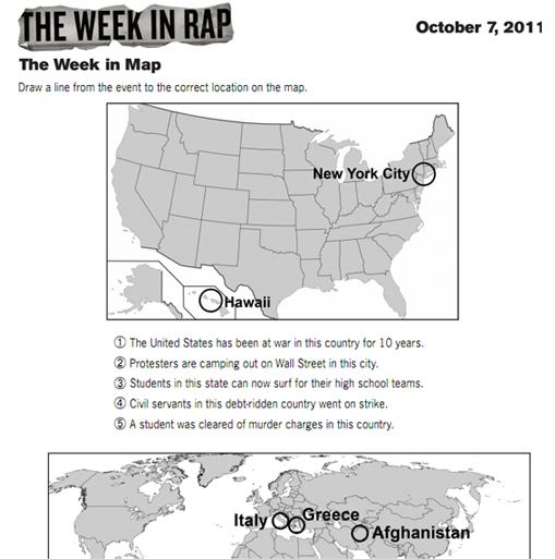 The Week in Map